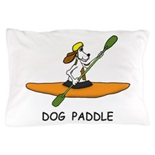 DOG PADDLE Pillow Case