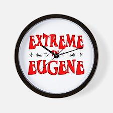 Extreme Eugene Wall Clock