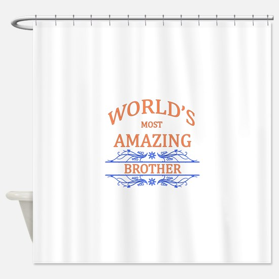 Brother Shower Curtain