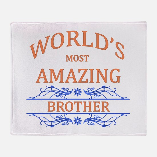 Brother Throw Blanket