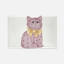 PINK KITTY Rectangle Magnet