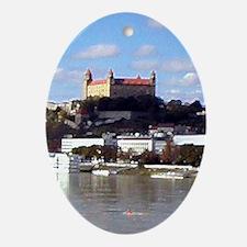 Bratislava, Slovakia Oval Ornament