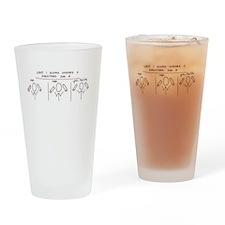 Pipefitter T-Shirt Drinking Glass