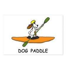 DOG PADDLE Postcards (Package of 8)