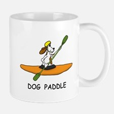 DOG PADDLE Mugs