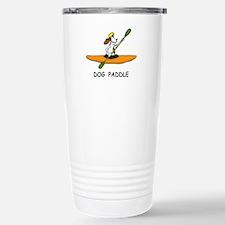 DOG PADDLE Stainless Steel Travel Mug