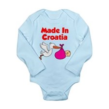Made In Croatia Girl Body Suit