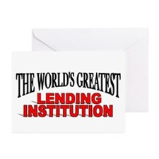 """The World's Greatest Lending Institution"" Greetin"