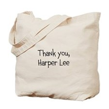 Thank you, Harper Lee Tote Bag