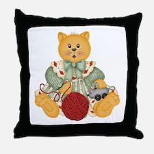 ORANGE CAT 1 Throw Pillow