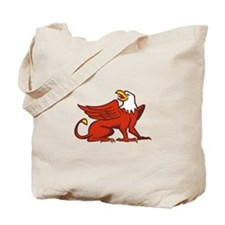 Griiffin Looking Up Side Retro Tote Bag