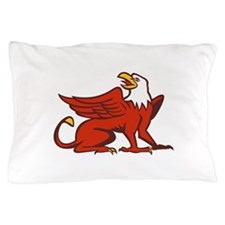 Griiffin Looking Up Side Retro Pillow Case