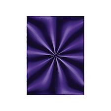 Graphic Purple 5'x7'Area Rug