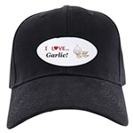 I Love Garlic Black Cap