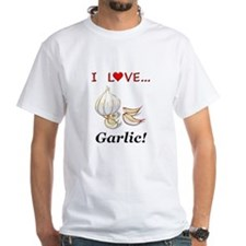 I Love Garlic Shirt