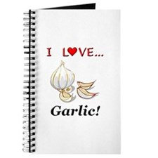 I Love Garlic Journal