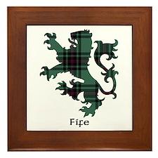 Lion - Fife dist. Framed Tile