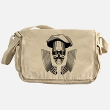 Butcher Skull Messenger Bag