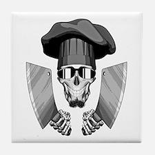 Butcher Skull Tile Coaster