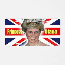 HRH Princess Diana Super! Aluminum License Plate
