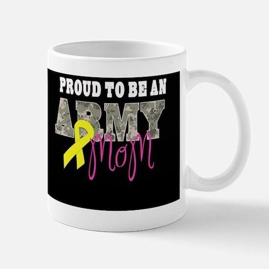 Proud to Be Army Mom Mug