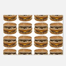 fast food burger photo Postcards (Package of 8)