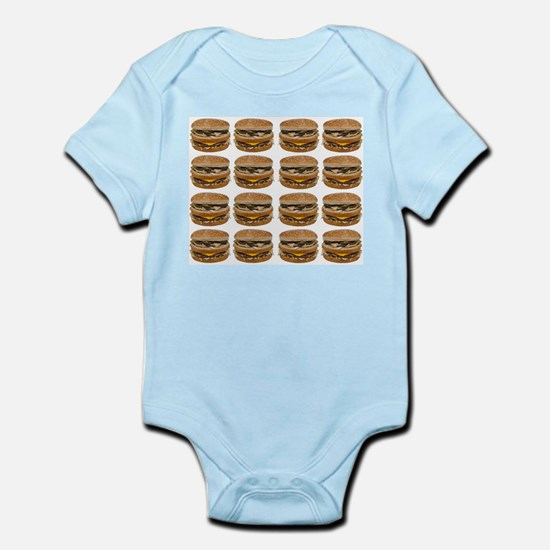 fast food burger photo Body Suit