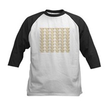 french fries thank you collage Baseball Jersey
