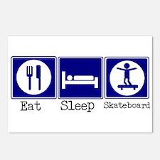 Eat, Sleep, Skateboard Postcards (Package of 8)