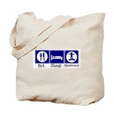 Eat, Sleep, Skateboard Tote Bag
