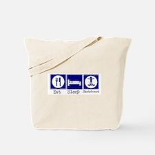 Eat, Sleep, Skateboard Tote Bag