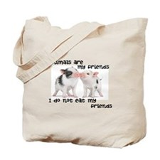 Animals Are My Friends 'em Tote Bag