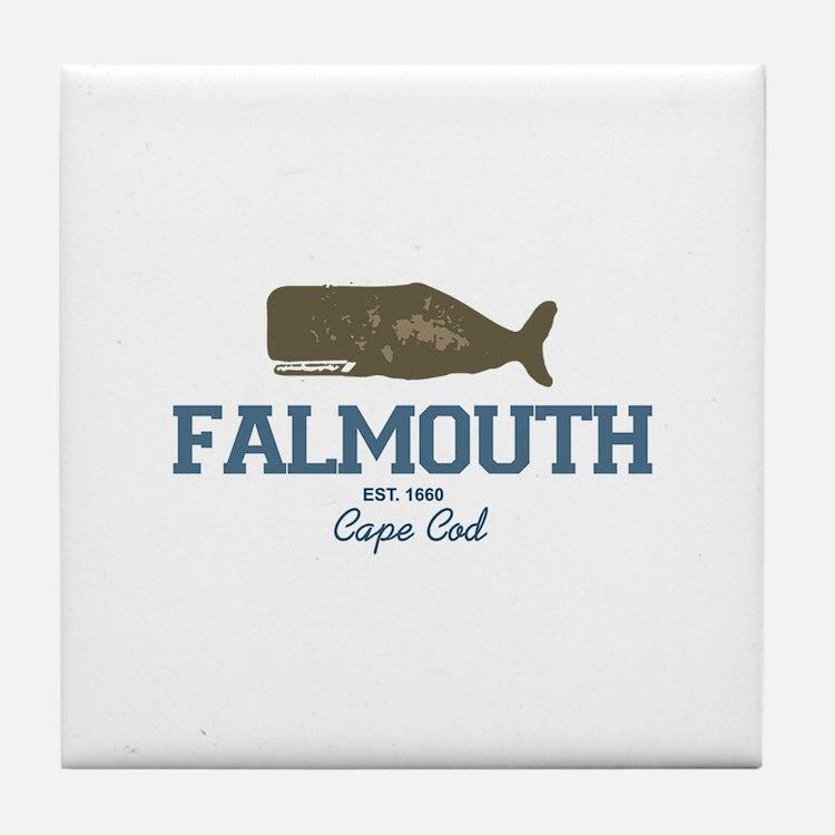 Falmouth - Cape Cod. Tile Coaster