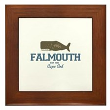 Falmouth - Cape Cod. Framed Tile