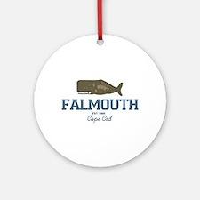 Falmouth - Cape Cod. Ornament (round)