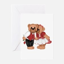 BEARS IN LOVE Greeting Cards (Pk of 10)
