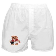 BEARS IN LOVE Boxer Shorts
