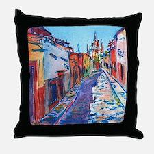 San Miguel De Allende Throw Pillow