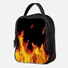 Flames Neoprene Lunch Bag