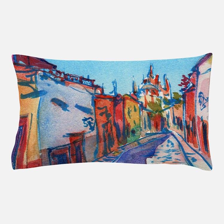 San Miguel De Allende Pillow Case