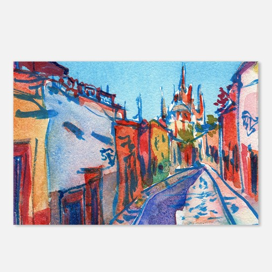 San Miguel De Allende Postcards (Package of 8)
