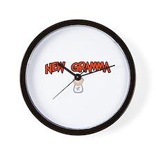 Unique Proud new grammy Wall Clock