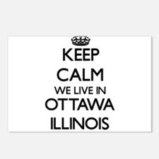 Keep calm we live in Otta Postcards (Package of 8)
