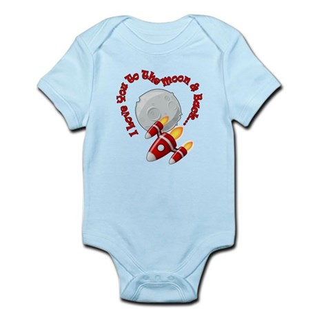I love you to the moon and back! Body Suit