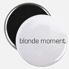 Blonde Moment Magnet