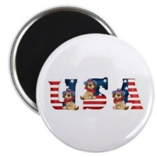 USA DOGS Magnet