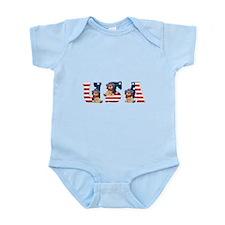 USA DOGS Infant Bodysuit