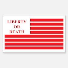 Whiskey Rebellion Flag Decal