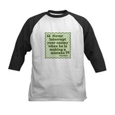 Napoleon Enemy Quote Baseball Jersey