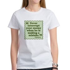 Napoleon Enemy Quote T-Shirt